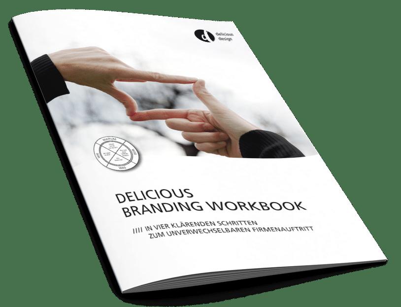 Cover des Delicious Branding Workbooks
