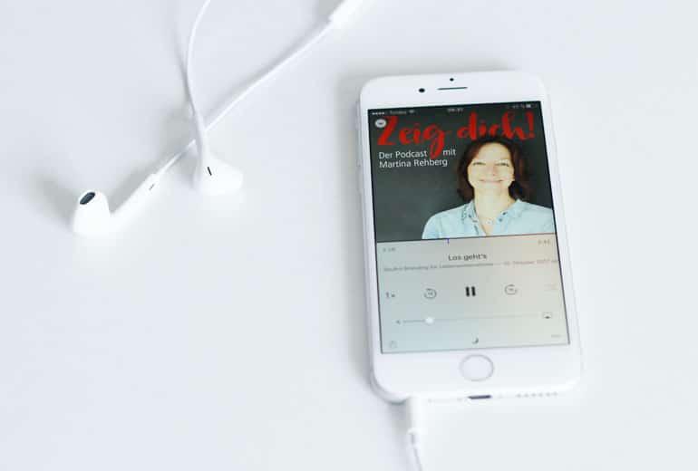 Podcast Zeig dich auf dem iPhone