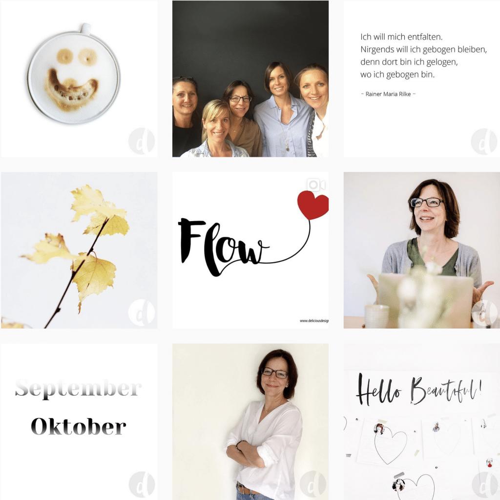 Delicious Design Instagram Feed