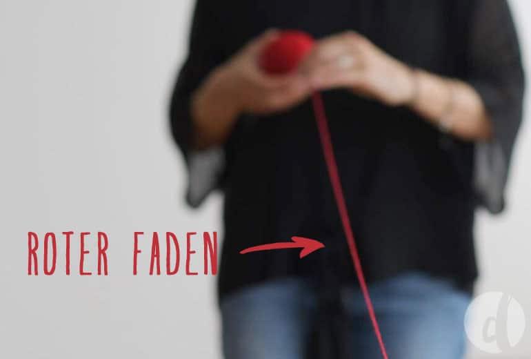 Den roten Faden finden - Branding für Selbstständige - Martina Rehberg - Delicious Design